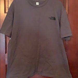 North face tee shirt
